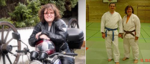 Anette Haug ist Pressewartin des TV Nieder-Olm und stellv. Abteilungsleiterin der Ju-Jutsu-Abteilung. In ihrer Freizeit genießt sie auch das Motoradfahren.
